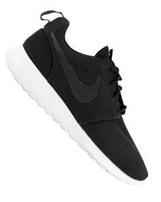 2afb79f50384 NIKE ROSHE RUN BLACK ANTHRACITE SAIL Nike Roshe Run Black
