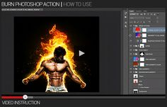 Burn Action – it's realistic fire effect with particles and burns. You can change the color of fire and particles to create a magical flame. Watch detailed video tutorial for this action ...