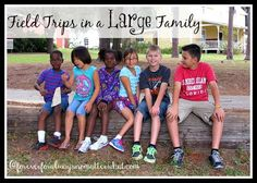 Fields Trips in a Large Family - a few tips to make them a bit easier Curriculum, Homeschool, Adoption, Home Study, Moving To Florida, Multiplication For Kids, Adopting A Child, Study Tips, Getting Old
