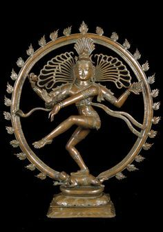 View all of Lotus Sculpture's Nataraja Statues. As Nataraja (Sanskrit: Lord of Dance) Shiva represents apocalypse and creation as he dances away the illusory world of Maya transforming it into power and enlightenment. Lotus Sculpture, Bronze Sculpture, Sculpture Art, Sculptures, Hindu Statues, Buddha Statues, Shiva Statue, Nataraja, Indian Gods