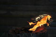 Feuerpferd (by kwerfeldein)