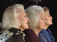 Les trois glorieuses : Danielle Darrieux, Michèle Morgan et Micheline Preslene