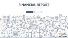Buy Financial Report Doodle Concept by koctia on GraphicRiver. Doodle design style concept of business reporting, financial communication and investment. Modern line style illustra. Accounting Images, Finance, Graphic Design Layouts, Ad Design, Icon Design, Best Resume Template, Doodle Designs, Communication Design, Free Vector Art