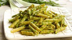 Recipe: Vegan Cashew Pesto With Whole Grain Pasta ** I always double the amount of cashews in the recipe because I like my pasta extra creamy~