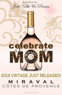 Celebrate Mom with #Miraval  #Mother'sDay #wine