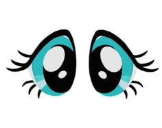 Check out our embroidery eyes selection for the very best in unique or custom, handmade pieces from our shops. Fluttershy, Drawing Cartoon Faces, Doll Face Paint, Pony Drawing, Machine Embroidery Patterns, Doll Eyes, Machine Design, Dollar Store Crafts, Eye Art