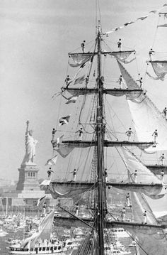 Sailing Ships, Boat, United States, The Unit, America, History, Statue Of Liberty, Modern, Travel