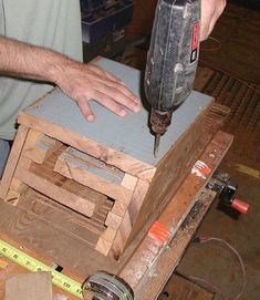 Image titled Pre-drill holes for screws Build A Bat House, Bat House Plans, Bird House Kits, House Building, Bat Facts, Bat Box, How To Build Abs, Bird Types, Bird Aviary