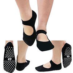 f7641244efc5 Low Cut Socks Yoga Pilates Socks Non Slip Skid Barre Sock with Grips for  Women Gmall