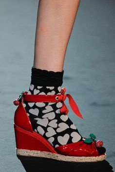 Anna Sui adorable Spring 2012 wedge