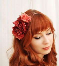I don't know why but I adore all shades of red hair.