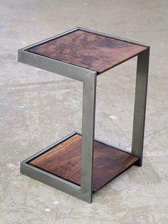Trendy Ideas wood and metal furniture diy decor Metal Projects, Welding Projects, Furniture Projects, Diy Furniture, Furniture Design, Welding Ideas, Furniture Plans, Diy Projects, System Furniture