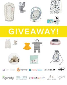Enter this You Are My Sunshine Sweepstakes to win over $4,000 in mama + baby prizes from much-loved brands like aden + anais, Ergobaby, Ingenuity and more! If you refer friends you get more chances to win. :)  %{link}
