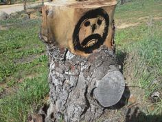 Oscar the Sad Faced Stump