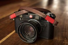 Bronkey  Tokyo 1  Brown  Leather Camera Strap for