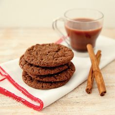 Mexican Hot Chocolate Snickerdoodle Cocoa Pebbles Crunch Cookies