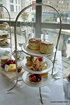 A Traditional Afternoon Tea at Chateau Laurier Ottawa. @emmamin
