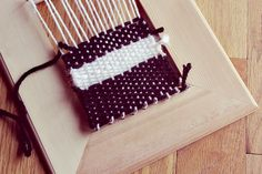 Homemade Weaving Loom @Shalayne Williams Williams Williams Lighty