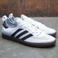 half off b367e a8b2c ... netherlands adidas men samba primeknit sock white core black bluebird  7b5eb 073e3