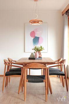 Open Plan Living Dining Kitchen Renovated Home Extension Round Coffee Table Scandinavian Setting Neutral Tones Grey Sofa Teak Furni