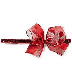 Starting Out Baby Girls Mesh/Metallic Stripe Bow Headband Christmas Outfits, Christmas Baby, Dillards, Baby Girls, Metallic, Mesh, Bows, Cosmetics, Accessories
