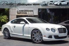 Vital Information Year Make Model Mileage 2014 Bentley Continental GT Speed 7,905 Exterior Interior Stock # VIN White White EC089263 SCBFC7ZA4EC089263 Engine Twin-Turbocharged 6.0L W12 Engine Standard
