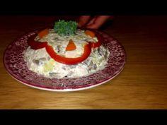 Rețeta salata cu ciuperci,piept de pui cu maioneza-JuliaCuisine - YouTube