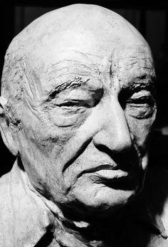 buste d Edgar Morin par Gérard Lartigue Morin, Portfolio, Les Oeuvres, Lartigue, Portrait, Tattoos, Art, Tatuajes, Portrait Illustration