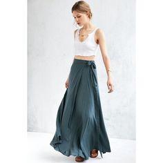 + Ecote Zella Boho Wrap Maxi Skirt | perfect skirt for a summer day or vaycay