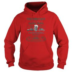 I Just Want to Drink Beer, Read Books, and Get Tattooed - Hoodies - Red
