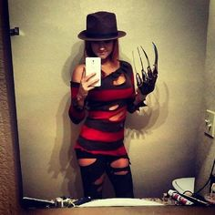 Miss. #FreddyKrueger #Halloween #Costume #Nightmare on Elm Street,