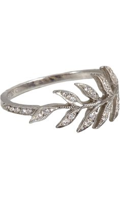 Cathy Waterman Diamond Wheat Sheaf Ring