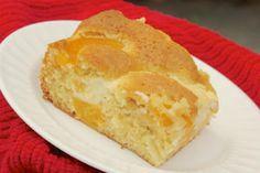 Creamy Peach Cheese Dump Cake