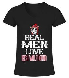 IRISH WOLFHOUND Breed Lover  Funny Wolf T-shirt, Best Wolf T-shirt