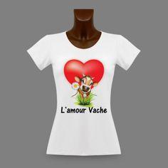 T-shirt humoristique mode dame - L'amour Vache https://www.apprentiphotographe.ch/shop/fr/t-shirts-dames-vaches-humoristiques/557-t-shirt-humoristique-mode-dame-l-amour-vache.html