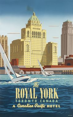 CANADA Toronto - PETER EWART (1918-2001) THE ROYAL YORK.