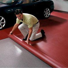 Heavy-Duty Garage Flooring #GarageRemodeling