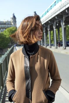Explore Paris, Tokyo & Los Angeles with our Autumn/Winter Collection Invitation au voyage. Mod Hair, Rock And Roll Fashion, French Chic, Fall Hair, Winter Collection, Short Hair Styles, Fall Winter, Hair Cuts, Men Sweater