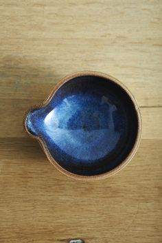 LANE & PARKWOOD POTTERY: STONEWARE DIPPING BOWL