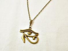 Egyptian protection ritual Eye of Horus Amon by 10dollarjewellery #amon…