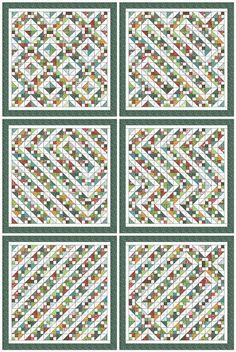 Charm Pack Quilt Along pattern ideas