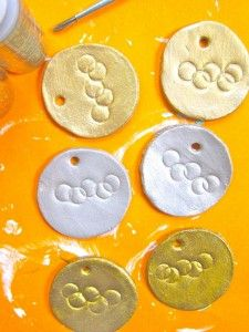Medallas Olímpicas hechas con Masa de Sal   #Artividades