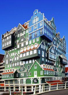 Hotel Inntel Zaandam – Zaandam, Netherlands   Atlas Obscura