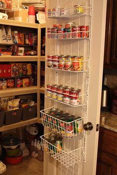 """A must have"""""""" Organisation; big kitchen closet! Quite similar  to Nigella's Kitchen closet!!"""