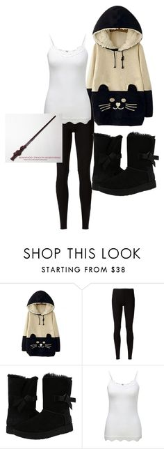 """""""Marissa Trelawney Ch. 7"""" by fredweasleygirl ❤ liked on Polyvore featuring WithChic, Rick Owens Lilies, UGG and Pure Collection"""