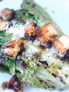 grilled caesar salad from Nutmeg Disrupted