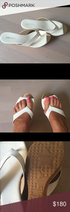 9e3214606 Jimmy Choo wedge sandals Worn around the house only