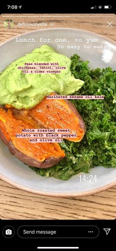 A lunch I would eat every day of the week! A lunch I would eat every day of the week! Healthy Meal Prep, Healthy Snacks, Healthy Eating, Healthy Life, Vegan Meal Plans, Vegan Life, Plats Healthy, Whole Food Recipes, Cooking Recipes