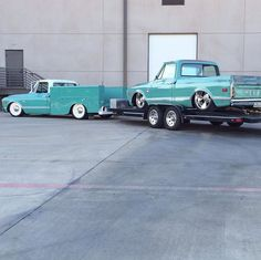 Epic c10 combo. Love the workbed and steelies on the tow pig.