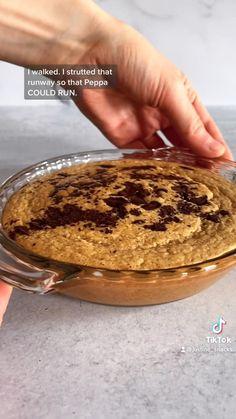 Fun Baking Recipes, Sweets Recipes, Snack Recipes, Cooking Recipes, Healthy Recipes, Oats Recipes, Healthy Sweets, Healthy Baking, Healthy Food